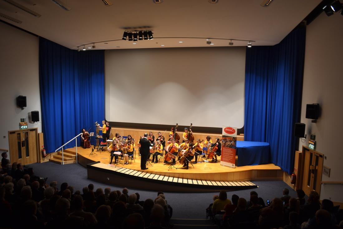 Tasmin Little with Sistema In Norwich