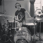 Joe in the studio