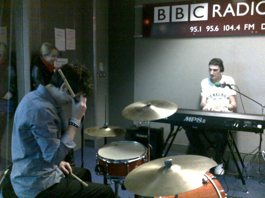Cardiem live on BBC Radio Norfolk, 2009